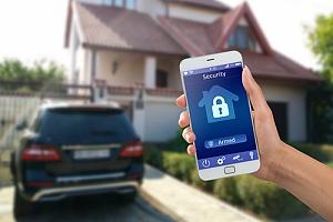 无线家庭安全系统不需要数据线来传递给信息库